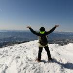 【販売開始】蔵王連峰の主峰・熊野岳 & 冬のお釜へのスノートレッキングツアー